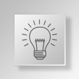 idérik symbolsaffärsidé för aktioner 3D Royaltyfri Illustrationer