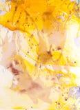 Idérik textur för design Vibrerande hand målad vattenfärgbakgrund Handgjord samkopiering Dekorativt kaotiskt färgrikt texturerat  fotografering för bildbyråer