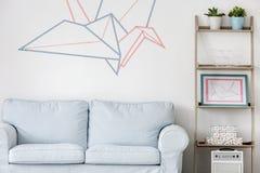 Idérik väg att dekorera ditt rum arkivbild
