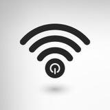 Idérik WiFi makt Royaltyfria Bilder