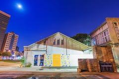 Idérika Huashan 1914 parkerar arkitektur på natten Royaltyfri Foto