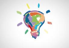 idérika idéer Arkivfoton