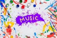 Idérika idéer för musik Royaltyfri Foto