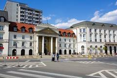 Idérika miljöer för kyrklig församling i Warszawa Royaltyfria Foton
