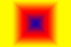 Idérikt abstrakt begrepp för mångfärgad fyrkantig form stock illustrationer