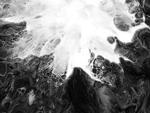 Idérikt abstrakt begrepp målad bakgrund, tapet, textur modern konst Samtida konst arkivfoto