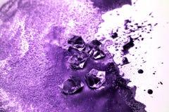 Idérikt abstrakt begrepp texturerar bakgrund Ultraviolet målad textur royaltyfria bilder