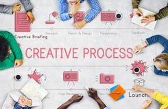 Idérikt begrepp för innovation för designidéinspiration arkivfoton