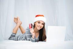 Idérikt begrepp för online-shopping Royaltyfria Foton