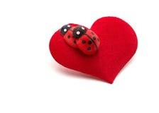 Idérikt begreppskort för valentin dag Arkivbild