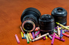 Idérikt färgrikt fotografi Royaltyfri Foto