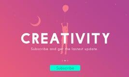 Idérikt för innovationdiagram för nya idéer begrepp vektor illustrationer