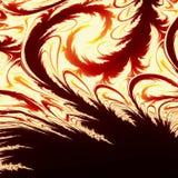 idérikt feathery för bakgrund Royaltyfri Foto