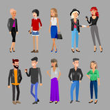 Idérikt lagfolk Teamwork, scenansvarig och formgivare royaltyfri illustrationer