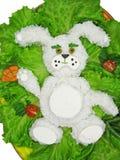 Idérikt matrismål med grönsaker och räkor royaltyfria bilder