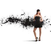 idérikt mode fotografering för bildbyråer