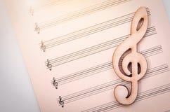 Idérikt musikaliskt begrepp arkivbild