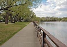idź do parku Obrazy Royalty Free