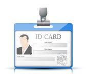 ID卡片 免版税图库摄影