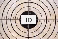 ID目标 库存照片