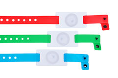 Id bracelets Stock Image