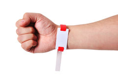 ID bracelets Royalty Free Stock Photos