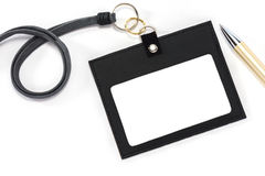 Id card holder. Stock Photo
