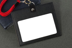 Id card holder. Stock Images