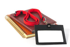 Id card holder. Royalty Free Stock Photo
