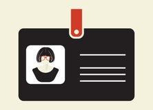ID Card icon Stock Photo
