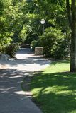 idź do parku Zdjęcie Stock
