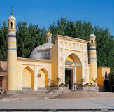 Id Kah Mosque, Kashgar, Xinjiang Privince, China. This Is The Largest Mosque In China. It Is The Central Place Of Worship For The Stock Photo