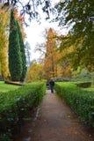 idź ogrodu Zdjęcie Stock