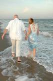 idź shore Zdjęcia Royalty Free