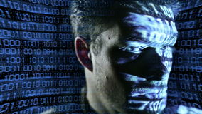 ID theft stock video footage