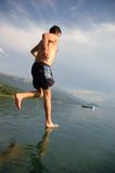 idź wody Zdjęcie Stock