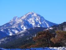 Ida bergen stock afbeeldingen