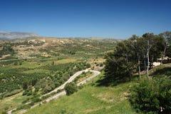 Ida Bergen in Kreta eiland Royalty-vrije Stock Afbeeldingen