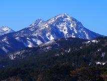 Ida Mountain ricoperta neve fotografia stock libera da diritti