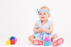 Idade infantil dez meses fotos de stock royalty free
