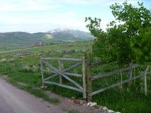 Idaho bergport Fotografering för Bildbyråer
