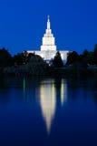 Idaho cae templo Imagen de archivo libre de regalías