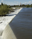 Idaho Falls Stock Photo