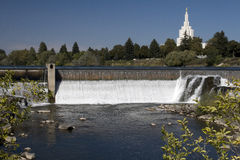 Idaho Falls Royalty Free Stock Images