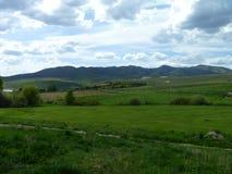 Idaho-Gebirgshimmel Stockbild