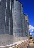 Idaho Grain Producers 4. Grain storage and process facility in Osgood Idaho Stock Image
