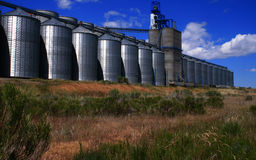 Idaho Grain Producers 5. Grain storage and process facility in Osgood Idaho Royalty Free Stock Photography