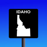 Idaho highway sign Royalty Free Stock Photo