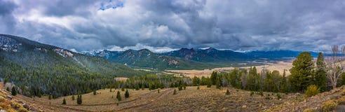 Idaho krajobrazu galeny szczyt obrazy stock