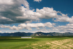 Idaho Landscape. Idaho Farmland on a cloudy day Royalty Free Stock Photography